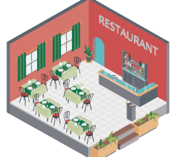 موقع مطعم