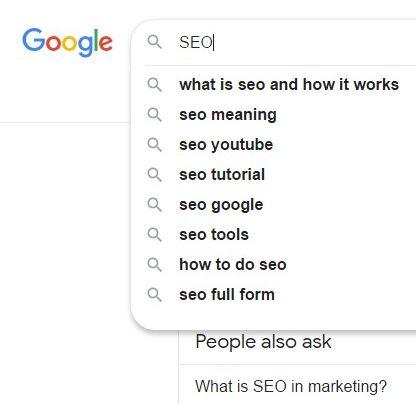 كلمات البحث المفتاحية